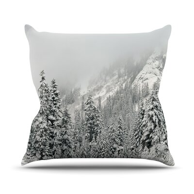 Winter Wonderland Throw Pillow Size: 18 H x 18 W