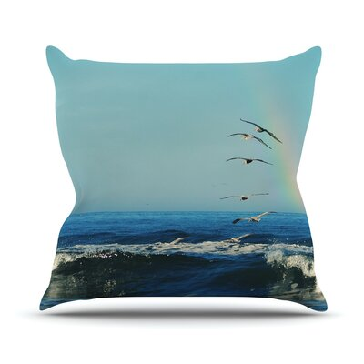 Ill Follow Throw Pillow Size: 16 H x 16 W