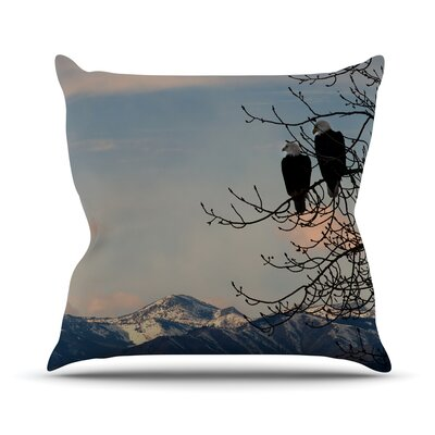 Majesty Throw Pillow Size: 18 H x 18 W