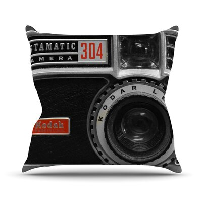 Instamatic Throw Pillow Size: 18 H x 18 W