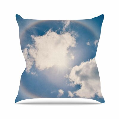 Halo Throw Pillow Size: 18 H x 18 W