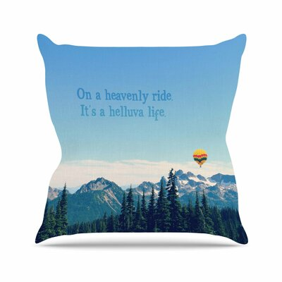 Its a Helluva Life Throw Pillow Size: 18 H x 18 W