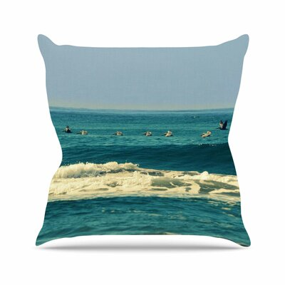 Break Free And Soar Throw Pillow Size: 16 H x 16 W