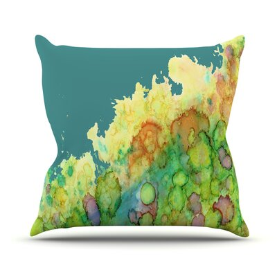 Sea Life II Throw Pillow Size: 16 H x 16 W