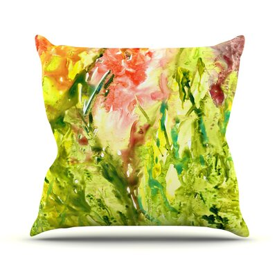 Green Thumb Throw Pillow Size: 26 H x 26 W