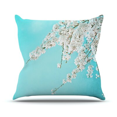 Hanami Throw Pillow Size: 16 H x 16 W