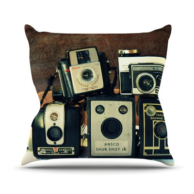 Through the Years Throw Pillow Size: 18 H x 18 W