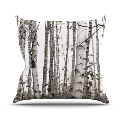 Birchwood Throw Pillow Size: 16 H x 16 W