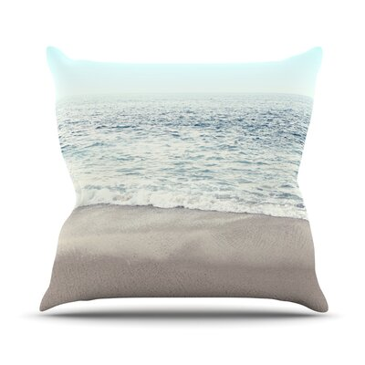 The Sea Throw Pillow Size: 20 H x 20 W