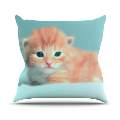 Dreamcat Throw Pillow Size: 16 H x 16 W