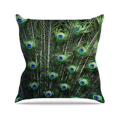 Glory Throw Pillow Size: 16 H x 16 W