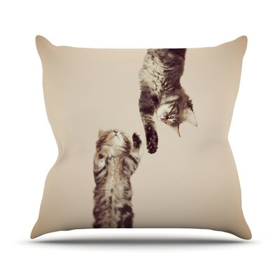 Upside Down Throw Pillow Size: 20 H x 20 W