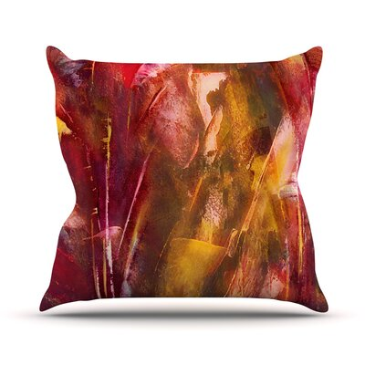 Warmth Throw Pillow Size: 26'' H x 26'' W