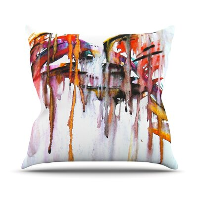 Cascade Throw Pillow Size: 18 H x 18 W