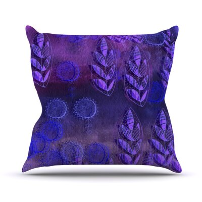 Summer Night Throw Pillow Size: 18 H x 18 W