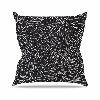 Garden Illusion Throw Pillow Size: 18 H x 18 W