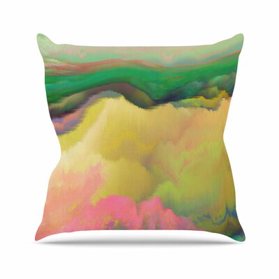 Pastoral Throw Pillow Size: 18 H x 18 W