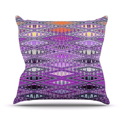 Orche Kilim Throw Pillow Size: 18 H x 18 W