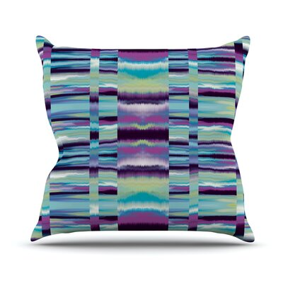 Samanna Throw Pillow Size: 26 H x 26 W, Color: Blue
