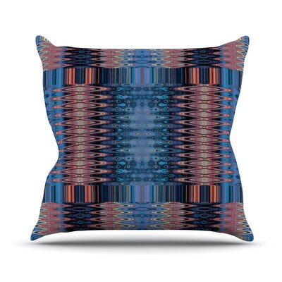 Larina Nueva Throw Pillow Size: 16 H x 16 W, Color: Sky