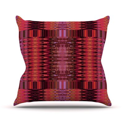 Larina Nueva Throw Pillow Size: 26 H x 26 W, Color: Spice
