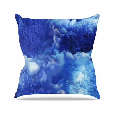 Saltwater Collage Throw Pillow Size: 18 H x 18 W