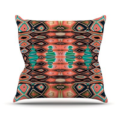 Deztecca Throw Pillow Size: 18 H x 18 W