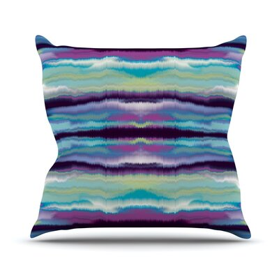 Artik Stripe Throw Pillow Size: 18 H x 18 W