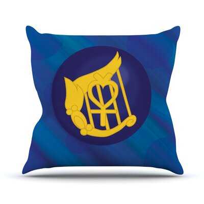 Mercury Throw Pillow Size: 16 H x 16 W