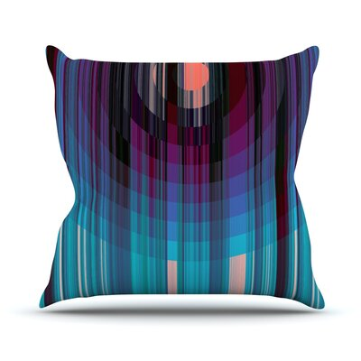 Nova Sun Throw Pillow Size: 18 H x 18 W