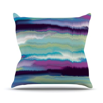 Artika Throw Pillow Color: Sunset, Size: 18 H x 18 W