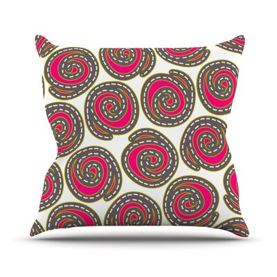 Bohemian IV Throw Pillow Size: 18 H x 18 W