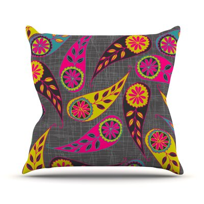 Bohemian II Throw Pillow Size: 18 H x 18 W