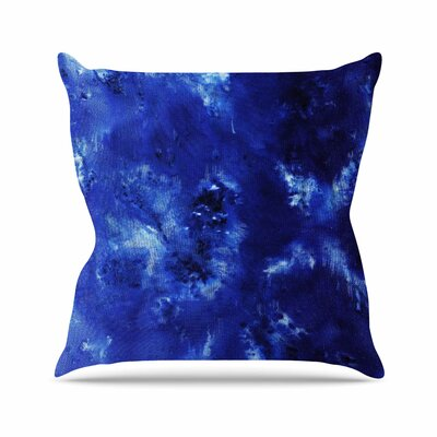 Saltwater Diamond Throw Pillow Size: 18 H x 18 W