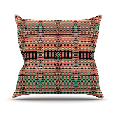 Deztekka Throw Pillow Size: 18 H x 18 W