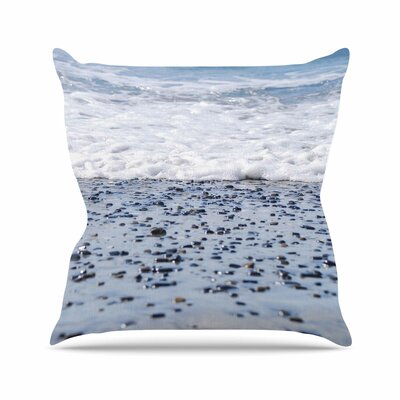 Solana Beach Sand Stones Throw Pillow Size: 16 H x 16 W