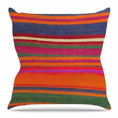 Line Art Throw Pillow Size: 16