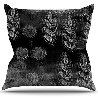 Grey Dream Throw Pillow Size: 26 H x 26 W