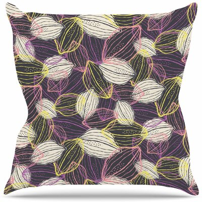 Lemon Mix Throw Pillow Size: 18 H x 18 W