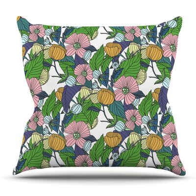 Spring Foliage by Catherine Holcombe Throw Pillow Size: 26