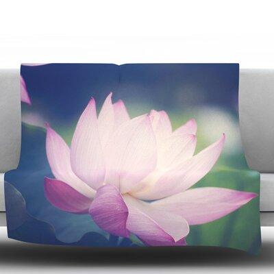 Hope for Tomorrow II by Catherine McDonald Fleece Throw Blanket Size: 80