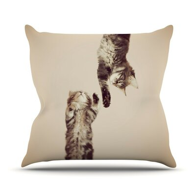 Upside Down Throw Pillow Size: 26 H x 26 W
