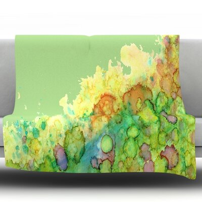 Sea Life Fleece Throw Blanket Size: 60 L x 50 W