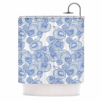 Gill Eggleston Fenella Floral Shower Curtain