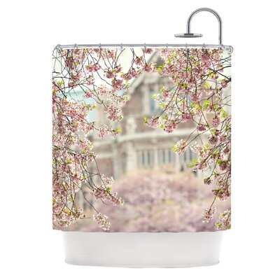 Pink Dream Polyester Shower Curtain