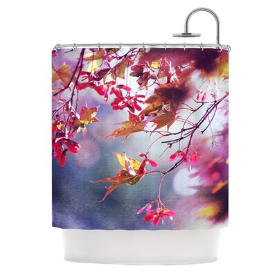 Autumn Polyester Shower Curtain