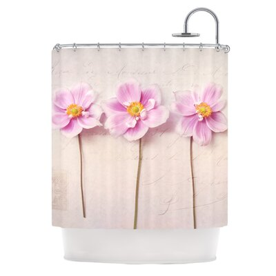 Anemone Trio Polyester Shower Curtain