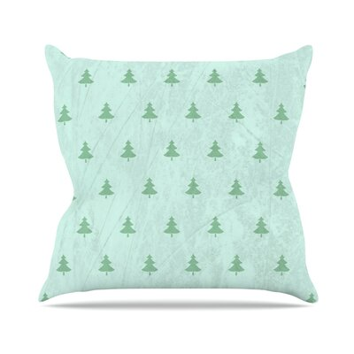 Pine by Snap Studio Throw Pillow Size: 20 H x 20 W x 4 D, Color: Green