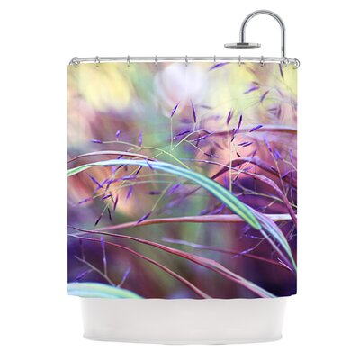 Pretty Grasses Polyester Shower Curtain