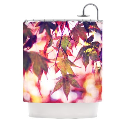 On Fire Polyester Shower Curtain